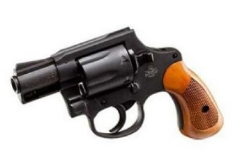 Rock Island M206 Parkerized Spurless 38 Special 6Rd