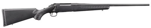 Ruger American Rifle 7mm-08 22″ Black Stock