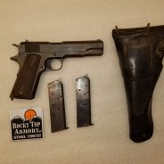 (2) Two  –  WWI  1911  US Army Issued Pistols